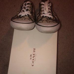 Coach Shoes - Coach Signature Sneakers